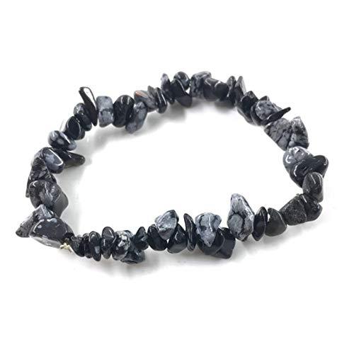 2Pcs 10pcs Natural Stone Bracelet Chip beads Nuggets Amazon Crystal Coral Quartz Beads Bracelets Bangles For Women Jewelry
