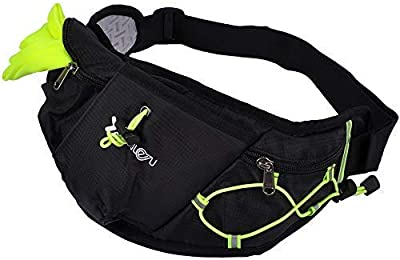 Travel Waist Pack,travel Pocket With Adjustable Belt Easter Bunny Eggs On Red Running Lumbar Pack For Travel Outdoor Sports Walking