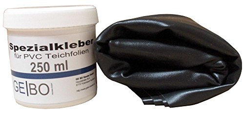REP Teichfolien Reparaturset 1,00 mm Folie schwarz inkl. Kleber