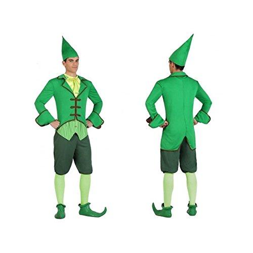 Atosa-22893 Disfraz Duende, color verde, M-l (22893)