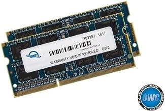OWC 32GB (4 x 8 GB) 1867 MHZ DDR3 SO-DIMM PC3-14900 204 Pin CL11 Memory Upgrade, (OWC1867DDR3S32S)