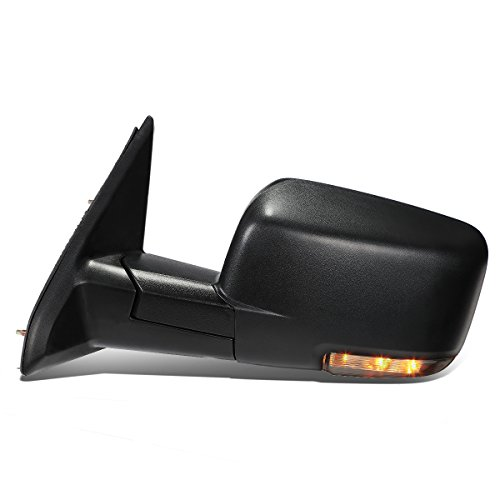 Replacement for Dodge Ram Powered Heated Defroster Mirror W/LED Signal Light (Left/Driver)