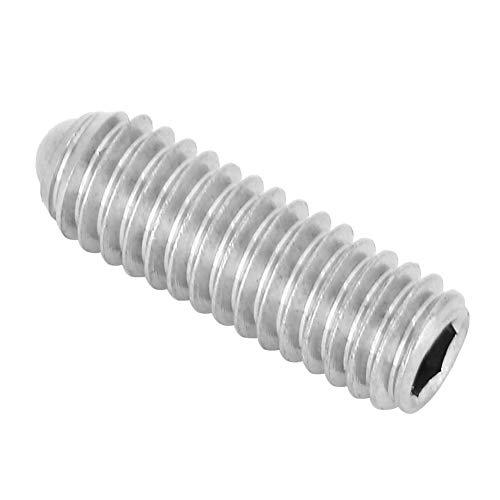Émbolo de bola de resorte de alta resistencia, tornillo de émbolo de bola duradero, herramienta neumática de 20 piezas(M3*10(20PCS))