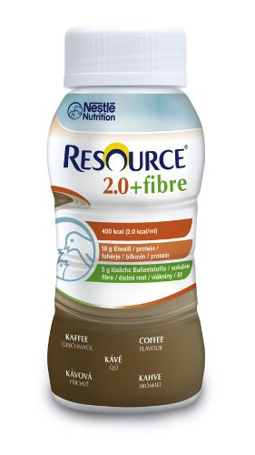 Resource 2.0 fibre Kaffee, 6x4x200 ml