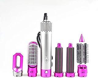 Cepillo de Aire Caliente 5 en 1 Multifuncional Smooth Control Hair Multi Styler 1000w Secador de pelo eléctrico con peine cepillo de pelo Roller Styler