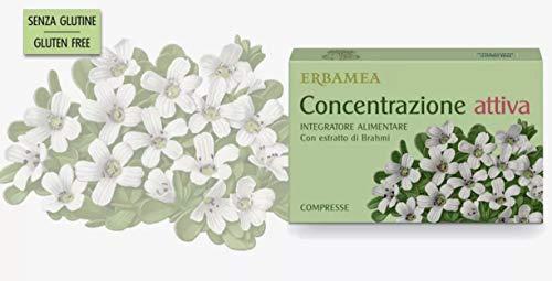 Erbamea Concentrazione Attiva con estratto di Brahmi, 24 compresse