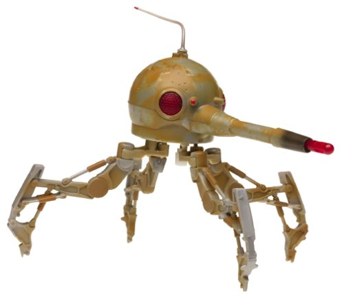 Hasbro Spider Droid with Rotating Turret & Firing Cannon – March Into Battle – Star Wars Revenge of The Sith Collection de