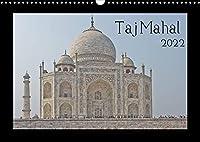 Taj Mahal (Wandkalender 2022 DIN A3 quer): 12 Bilder vom wohl bekanntesten Bauwerk in Indien. (Monatskalender, 14 Seiten )