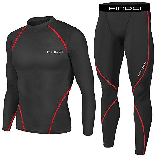 Set da Uomo, 2 Pezzi Maglia e Pantaloni, Motivo: Mimetico, Stile sportivo, per corsa e allenamento,...