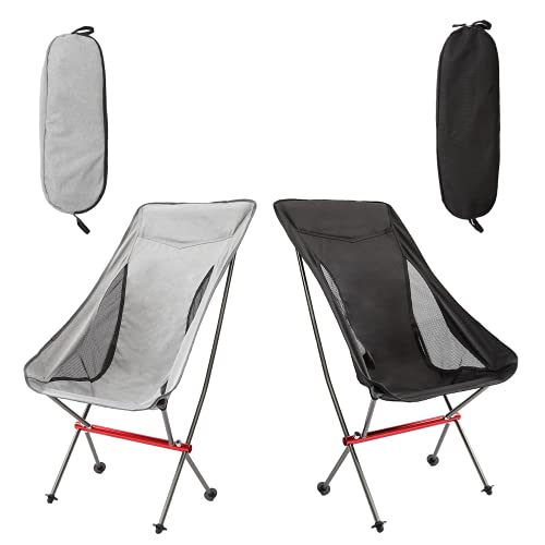 RoadWell Folding Camping High Back Backpacking Chair,...