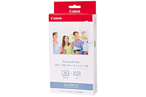 Canon 7737A001 KP-36IP photo paper inkjet (100x148mm 36 Blatt with ink cassette for CP-100)