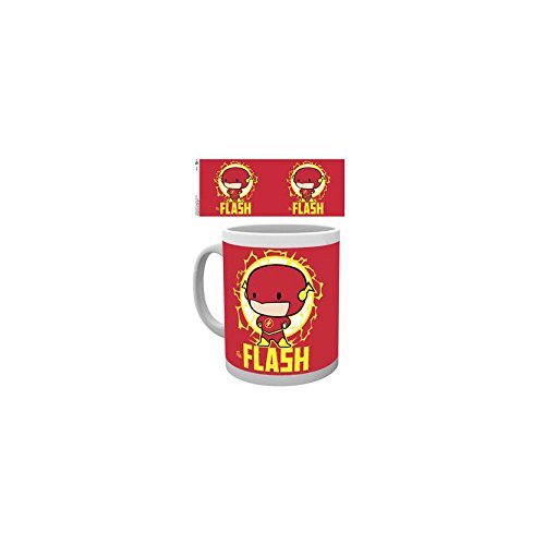 GB Eye, Justice League, Flash Chibi, Tasse,