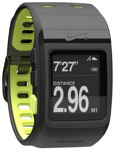 Best Price Nike+ SportWatch GPS Powered by TomTom (Black/Volt)