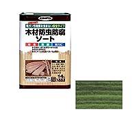 木材防虫防腐ソート 14L (グリーン)/62-2304-40