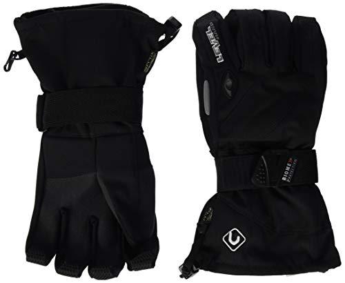 Level - Guantes de esquí para Hombre, tamaño 8,5 UK, Color 01 Negro