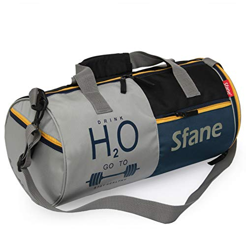 SFANE Polyester Gym Bag with Separate Shoes Compartment