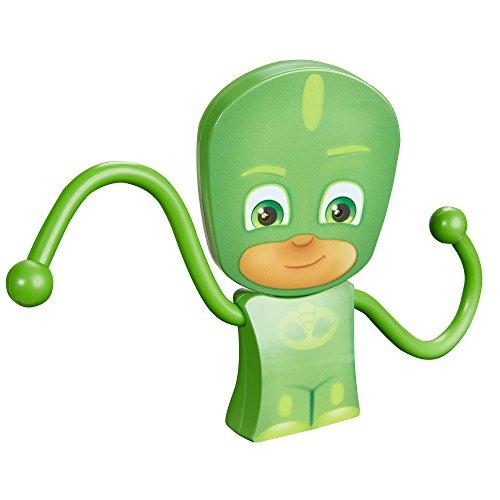 PJ Masks Gekko -GoGlow Hero: Taschenlampe und Nachtlicht mit beweglichen Armen, Plastik, Grün, 3 x 14 x 16 cm, 3 Einheiten