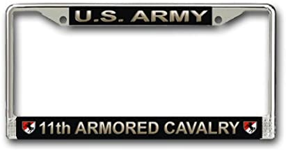 MilitaryBest U.S. Army 11th Armored Cavalry License Plate Frame