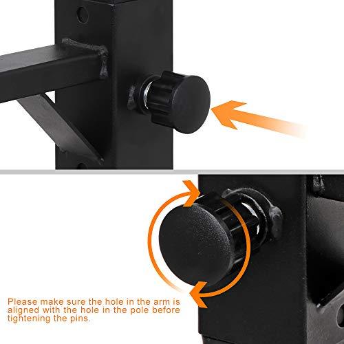 F2C Max Load 550Lbs Pair of Adjustable 40