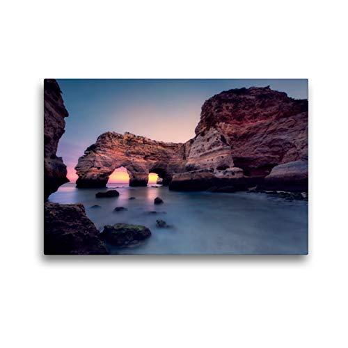 Calvendo La Hora Azul en Segundos (Praia da Marinha/Algarve), 45x30 cm