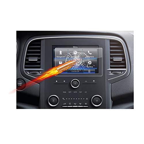 RUIYA Renault Mégane IV/Renault Koleos II Displayschutzfolie Displayschutz Crystal Clear HD Bildschirmschutz [8,7 Zoll]