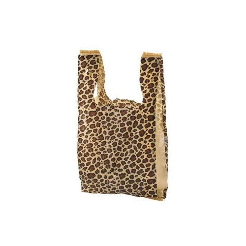 Amazon.com  Wholesale Case of 1000 Pieces Small Leopard Print Plastic  T-shirt Merchandise Gift Shopping Bags 8