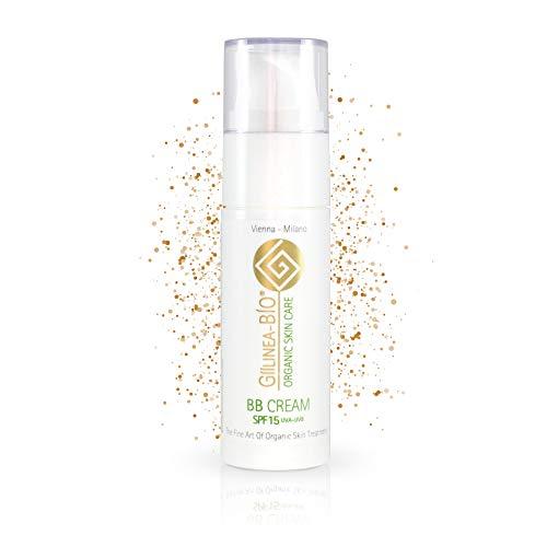 GiiLinea Bio BB Cream | mit Aloe Vera | 100% Bio & Vegan | SPF 15+