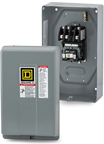 SCHNEIDER ELECTRIC 8903LG30V02 Contactor de iluminación 600-Vac 30-Amp L Caja Electrica