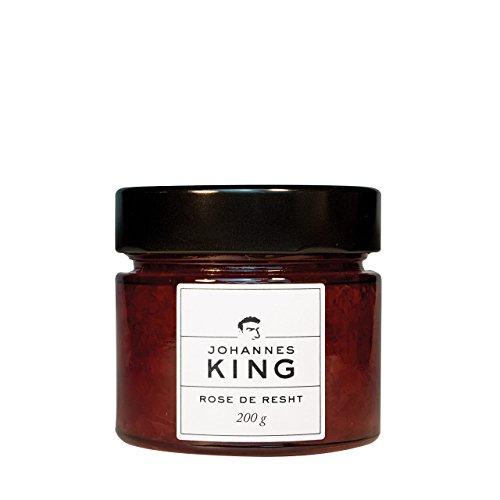 Kings Rose de Resht Rosenaufstrich, Fruchtaufstrich mit Rosenaroma