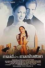 Maid In Manhattan Double-Sided Regular Style B 27X40 Jennifer Lopez Ralph Fiennes Poster