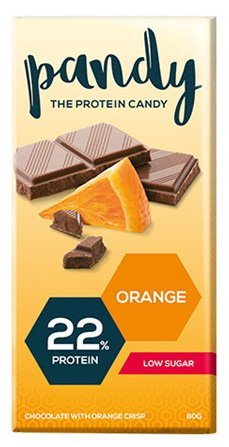 Pandy Protein Orange 18 Candy Bars