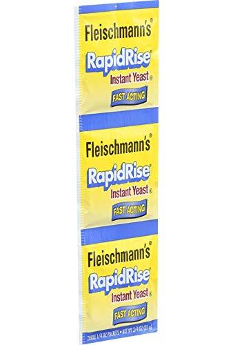 FLEISCHMANNS YEAST Rapid Rise Yeast, 0.25 OZ