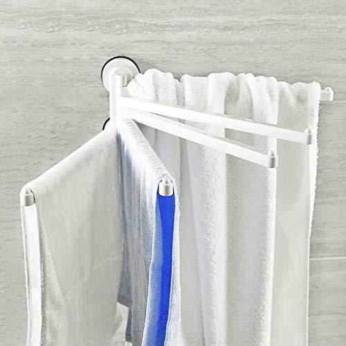 GFF Handtuchhalter Saugnapfstange Mehrhebel-Handtuchhalter Badetuch Handtuch Die Armlehnen-Kontrollstation