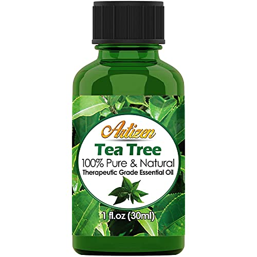 Artizen Tea Tree Essential Oil (100% PURE & NATURAL - UNDILUTED) Therapeutic Grade - Huge 1oz Bottle - Perfect for...