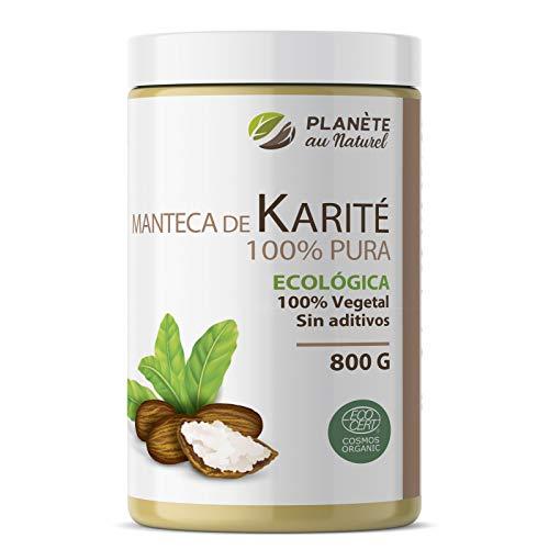 Manteca de Karité Ecológica 800g - 100% Vegetal - Sin aditivos - Sin Refinar