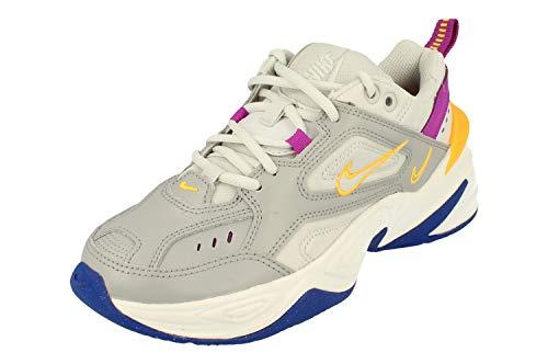 Nike Womens M2K Tekno Running Formatori Ao3108 Scarpe Da Ginnastica, grigio (Polvere fotone grigio fumo chiaro 018), 41 EU