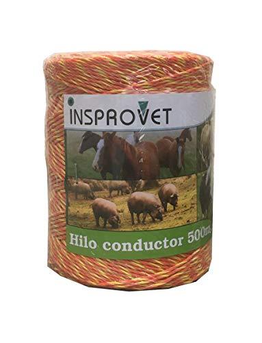 Hilo Pastor Conductor Electrificador para Cercados y Vallas, Apto para Vacas,Caballos, Ovejas. (500 metros)
