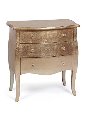 Menzzo Classico Commode, M.D.F laqué, Or Rose, 72
