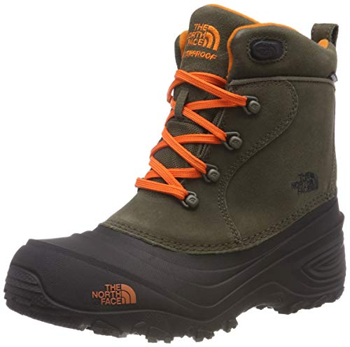 The North Face Chilkat Lace II, Botas de Senderismo Unisex Niños, Verde...
