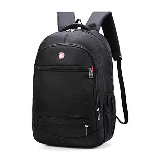 UKKO Waterproof Men Laptop Backpack USB Charge School Backpack Large Capacity Casual Male Travel Bag