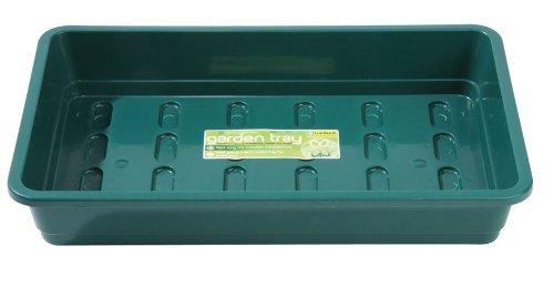 Garland 3 x Standard-Samenschalen, grün, ohne Löcher, 38 x 8 x 24 cm