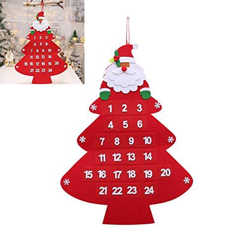Heylas Adventskalender, speciale vilten kerstkalender, kerstversieringen, gevoelens voor Kerstmis, Santa Advents, kalender, Kerstmis