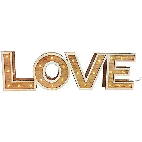 """LED Leuchtschrift """"LOVE"""" - 4"""