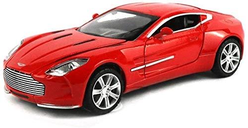YLJJ Coches a Escala Modelo de Coche Deportivo Aston Martin Die 1:32 Simulación Aleación para Uso estático Juguete Modelo de Coche para niños Regalo