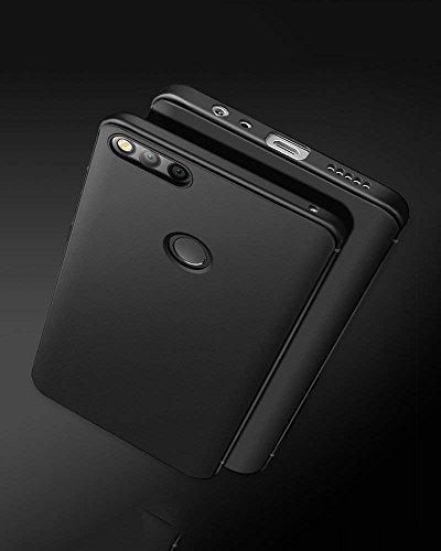 Olliwon Huawei Honor 7X Hülle, Dünn Leichte Schutzhülle Schwarz Silikon TPU Bumper Case Cover für Huawei Honor 7X -Schwarz - 6