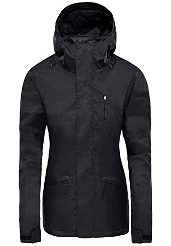 The North Face Women's Thermoball Snow Triclimate Jacket (TNF Black, L)