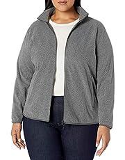 Amazon Essentials Plus Size Full-Zip Polar Fleece Jacket Mujer