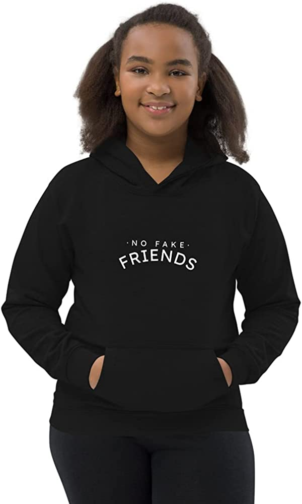 No Fake Friends Kids Hoodie