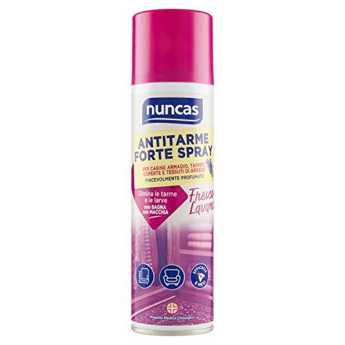 Nuncas Italia S.p.A. Anti-Mites Forte Spray de 250 ML