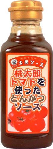 Tonkatsu 350 g de salsa de tomate usando Daikokuya Momotaro